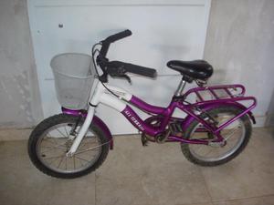 vendo bici para nena rodado 16,