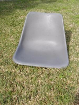6 Respaldos plásticos para sillas - Repuesto