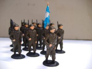 Antiguos Soldados De Plomo Batallon Coleccion