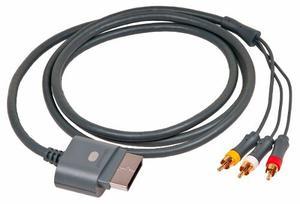 Cable Rca Consola Xbox 360 Microsoft Audio Video Original
