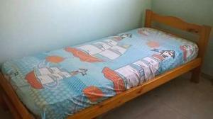 Cama cuna funcional con colchón