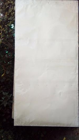 Cartel de chapa(6) /madera de 2 mts x 1