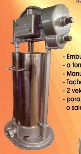 Embutidora Vertical 10 Kg Para Chorizo Morsilla Y Salchicha