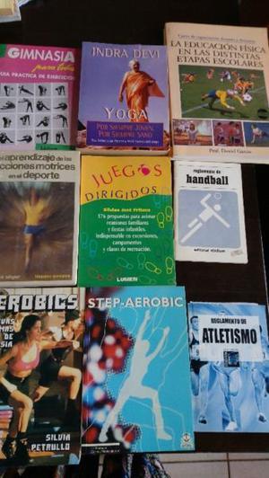Lote de libros de deportes