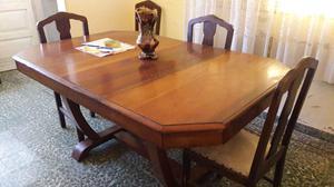 Mesa con 8 sillas mas dos modulares