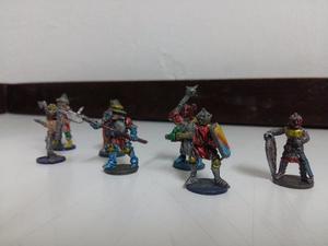 Miniaturas De Plomo Guerreros Soldados
