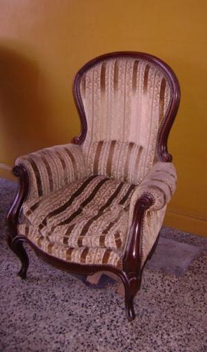 Antiguo Sillon De Estilo Colonial Ingles