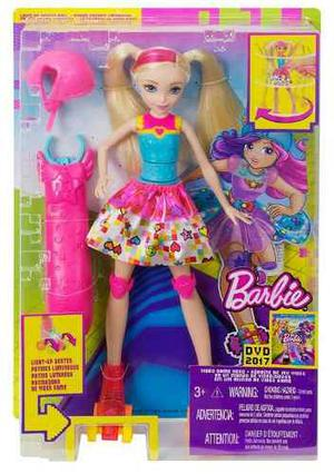 Barbie Patines Luminosos.. Original De Mattel