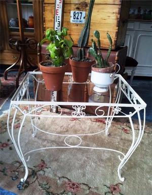 Muebles de jardin en hierro forjado la plata posot class for Mesas de hierro para jardin