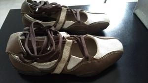 Vendo zapatos de CUERO de mujer numero 36