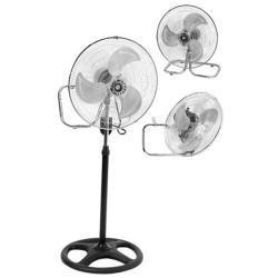 Ventilador 2 En 1 (pie-turbo) 18´´ Aspas Metalicas 50w