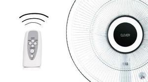 Ventilador De Pie Clever 16´´ Con Control Remoto Y Timer