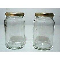 frascos de mermelada para usar como vasos