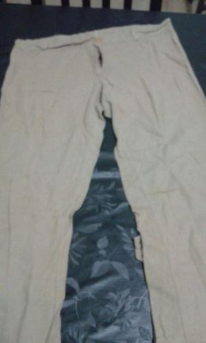 pantalon fresco de lino