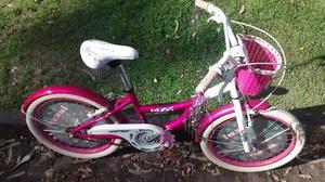 Bicicleta Raleigh Nina rodado 20