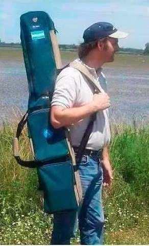 Bolso Porta Cañas De Pescar