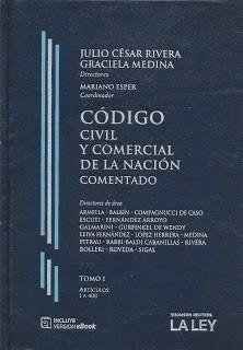 Codigo Civil Y Comercial Comentado Por Rivera - Medina