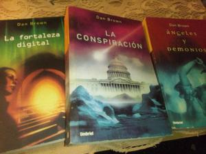 Coleccion de libros de Dan Brown