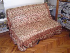 Futton/sofá cama – se convierte en cama doble, marca IKEA