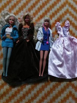 Tres Barbies originales
