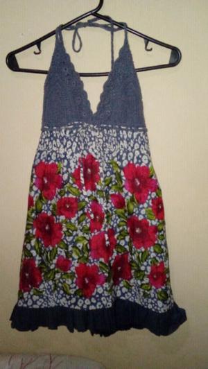 Vendo vestido estampado floral