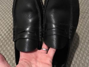 Zapatos de vestir de Cuero Negro Carzalo hombre talle