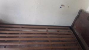 cama 1 plaza de cedro