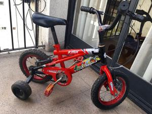 Bicicleta Kawasaki Rodado 12 Nene Nena Muy Buen Estado