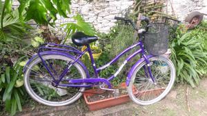Bicicleta de mujer rodado 26 frenos manuales