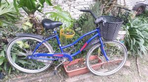 Bicicleta playera de mujer rodado 26