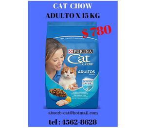 CAT CHOW X 15 KG