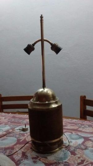 Lámpara de bronce p living