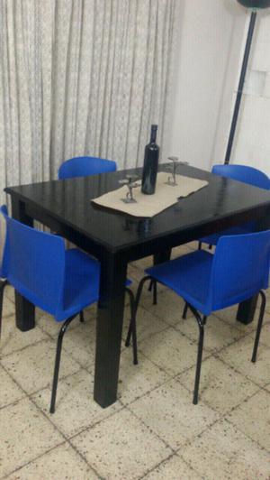 Mesa mas 4 sillas con envio!,