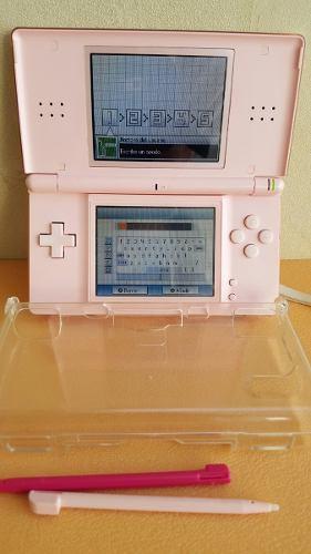 Nintendo Ds Lite + 3 Juegos Originales Y Otros, Impecable
