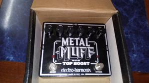 Pedal de distorsión Metal Muff con Booster
