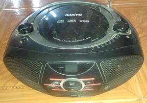 RADIO REPRODUCTOR DE CD MP3 USB SANYO