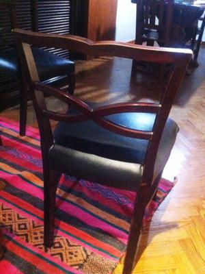 Excelentes par de antiguas sillas estilo ingles posot class - Sillas estilo ingles ...