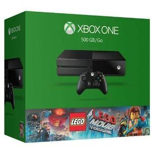 Xbox One 500gb Console - The Lego Movie Videogame Bundle.