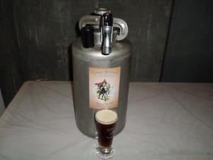 Barril de acero para cerveza de 10L