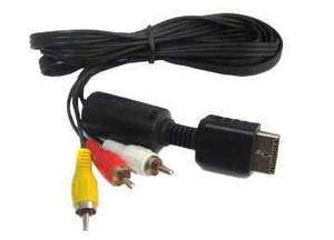 Cable Audio Y Video - Playstation 2 Ps2