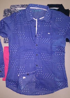 Camisa Entallada Hombre XL