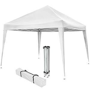 Gazebo Plegable 3x3 Pared Jardin Camping Blanco