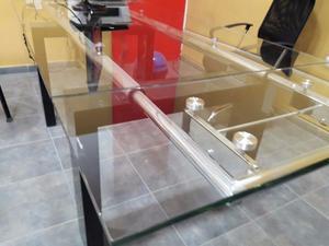 Gran Mesa de directorio de vidrio templado
