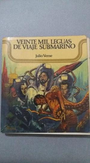 VEINTE MIL LEGUAS DE VIAJE SUBMARINO. JULIO VERNE