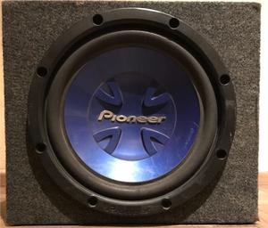 Woofer pioneer 12 + potencia