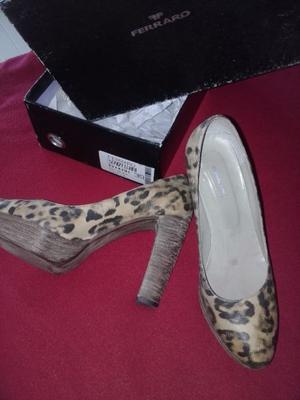 Zapatos de cuero Mujer 1 SOLO USO