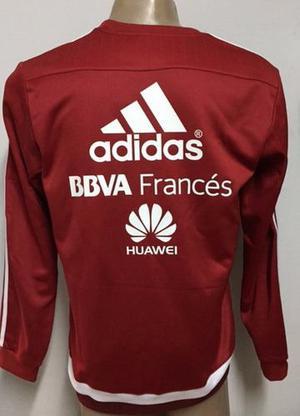 Buzo Entrenamiento River Plate Con Sponsors Originales