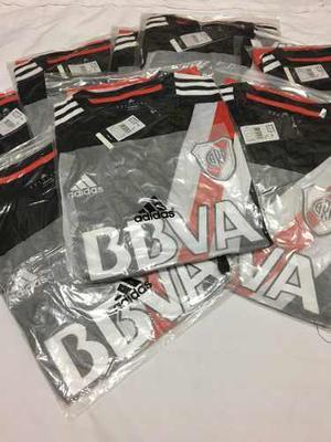 Camiseta River Plate  Negra Labruna - Original adidas