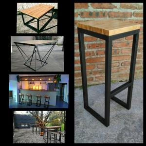 Muebles Y Estructuras en Hierro Y Madera