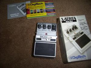 Pedal Digitech Digidelay X Series